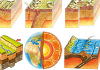 Ivan Stalio | Geography | Space | Maps | Geology Cutaway | Spaccati di Geologia